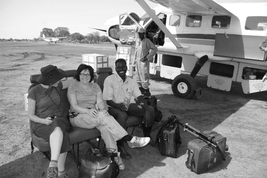 karen sudan flight